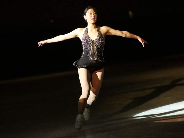 Mirai Nagasu takes part in the Aspen Skating Club's annual spring show on Saturday, March 9, 2019, at Lewis Ice Arena. This year's show was called