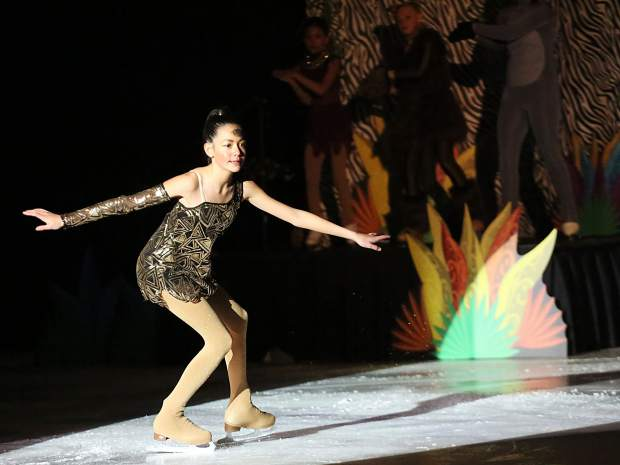 Aspen Skating Club's annual spring show on Saturday, March 9, 2019, at Lewis Ice Arena. This year's show was called