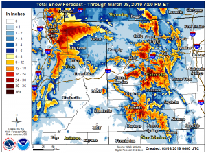 Winter storm warning for Aspen area starts Wednesday; 10 to 20 inches expected above 8,000 feet