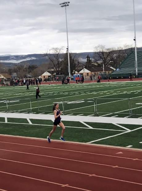 Basalt High School sophomore Sierra Bower competes at the Central Warrior Invitational on Saturday, March 23, 2019, in Grand Junction.