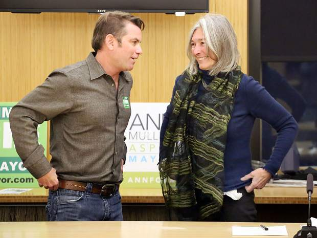 Aspen mayoral finalists Mullins, Torre defend records before runoff