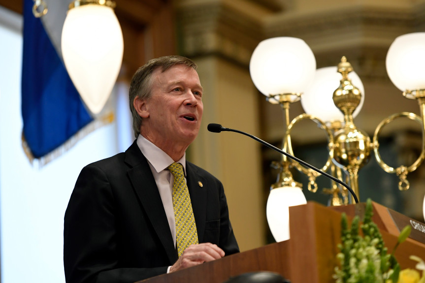 Former Colorado Gov. John Hickenlooper joins 2020 presidential race