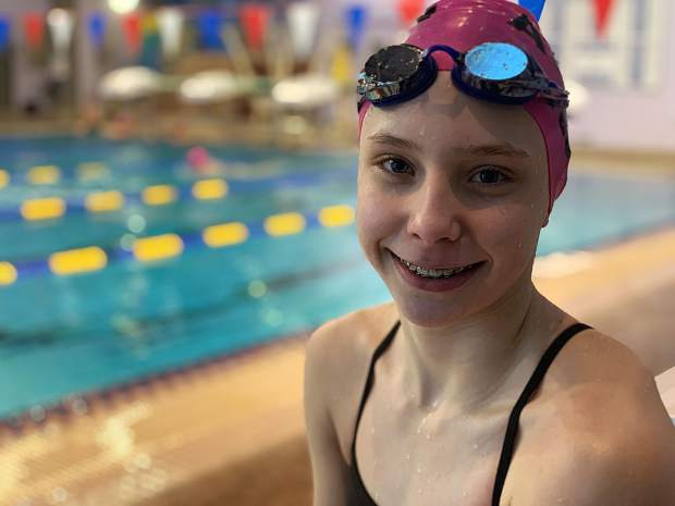 Lillie Boggs continues to shine for swim club after age-group championships