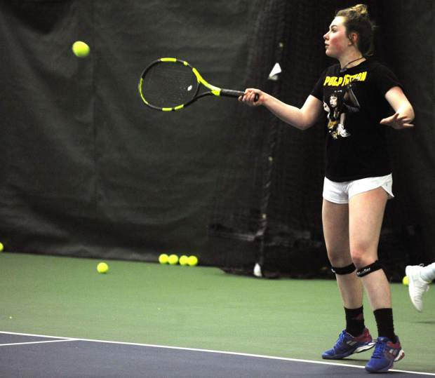 Steamboat Springs High School girls tennis team eyes higher state placements