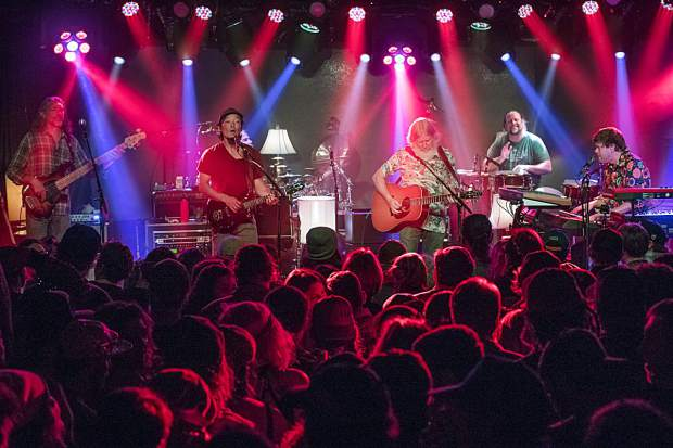 The String Cheese Incident photographed at Belly Up in 2017. The band will return to Belly Up on Friday and will headline The Apres at Buttermilk on Saturday and Sunday..