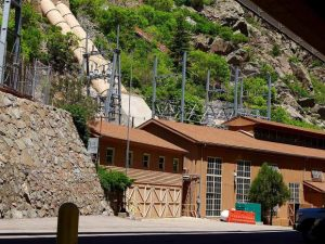 Shoshone hydro plant in Glenwood Canyon went down last week, but not the river