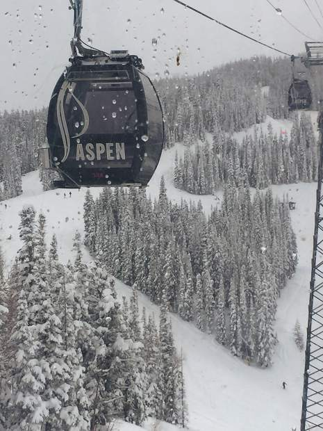 Former professional photographer and frequent Aspen visitor Duffy Hurwin submitted this picture she took last month on Aspen Mountain, which might not have any green runs, but does have a heart.