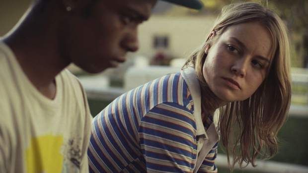 "Brie Larson and LaKeith Stanfield in ""Short Term 12."""