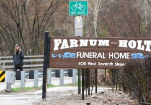Funeral home says no plans to move amid development pressure