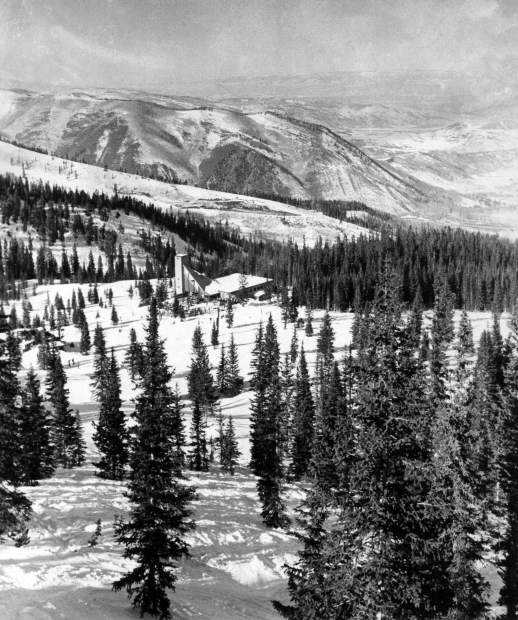 6efbbf4fe0a An image of Snowmass Ski Area and the High Alpine Ski Restaurant, known  today as Gwyn's High Alpine Restaurant, that ran in The Aspen Times on Jan.