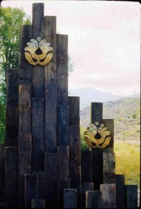 Snowmass Village town logo has blossomed through the years
