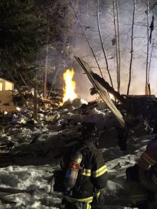 Two injured after house exploded in Breckenridge