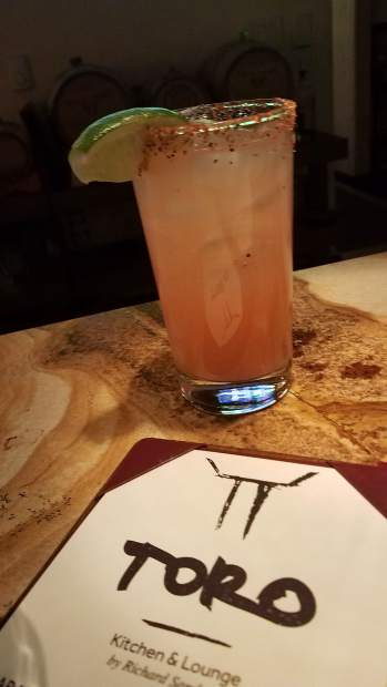We made a stop at Toro for their Paloma and were surprised by the Mercado. Either way, the drink menu inside Snowmass's Viceroy is solid.