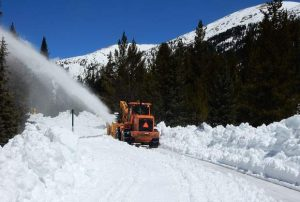 Getting plowed on Independence Pass: CDOT crew makes steady progress