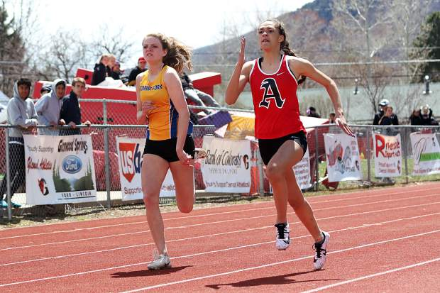 The Demon Invitational track and field meet on Saturday, April 13, 2019, in Glenwood Springs.