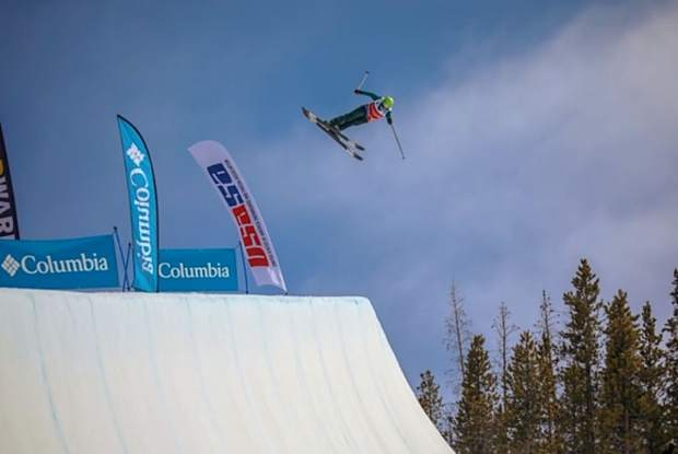 Hanna Faulhaber competes at the 2019 USASA National Championships early in April at Copper Mountain.
