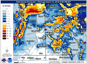 Aspen, Snowmass fall into winter storm warning for Wednesday