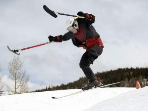 Former Marine, amputee finds new life, skiing career at sports clinic in Snowmass (video)