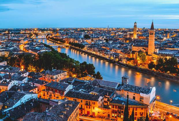 All this and Italian wine as well. The UNESCO honored city of Verona plays host each April to Vinitaly, the largest and most prestigious wine trade fare in the world.