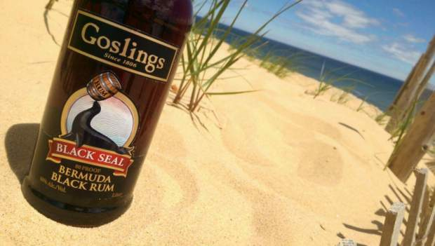 The Goslings Black Seal Bermuda Black Rum is the only Rum legally allowed to be used in the making of a Dark 'n Stormy cocktail under trademark laws.