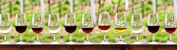 Simply looking at the color of a given wine in the glass can provide a plethora of clues about what that wine is.