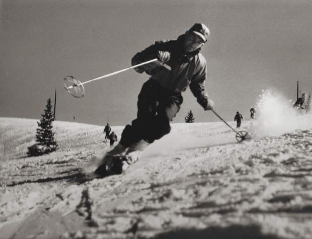Sgt. Harry Poschman was an avid skier and early member of the 10th Mountain Division. He to Camp Hale soon after it was established in 1942 and spent his time there teaching skiing to soldiers from generals to privates.