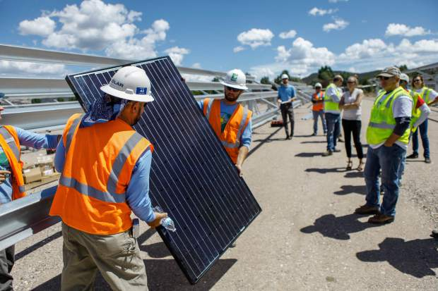 Proposed solar farm near Aspen draws full house for county's plan and zoning meeting