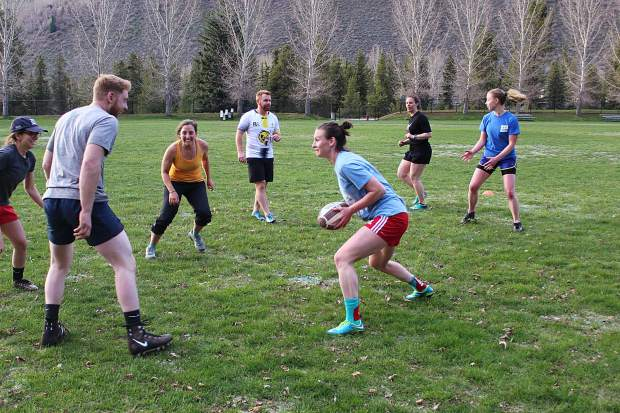 Vail Women's Rugby will help teach those playing for the first time how to tackle.