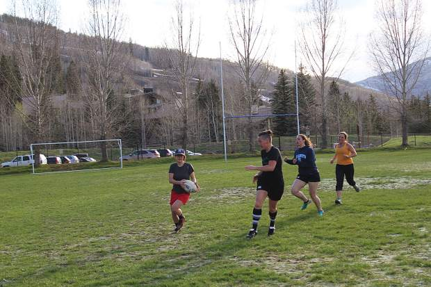 The Vail Women's Rugby team is starting out its first year and is registered with USA Rugby.