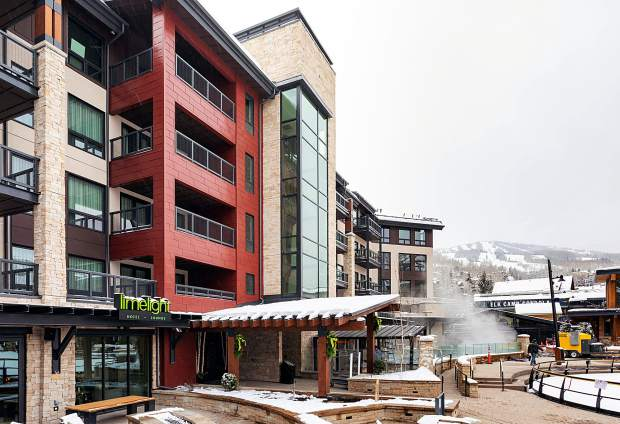 Limelight Hotel in Snowmass Base Village.