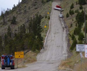 Runaway truck ramps near Silverthorne are the most frequently used in the state