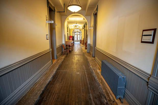 Pitkin County Courthouse floors revealed after 50 years