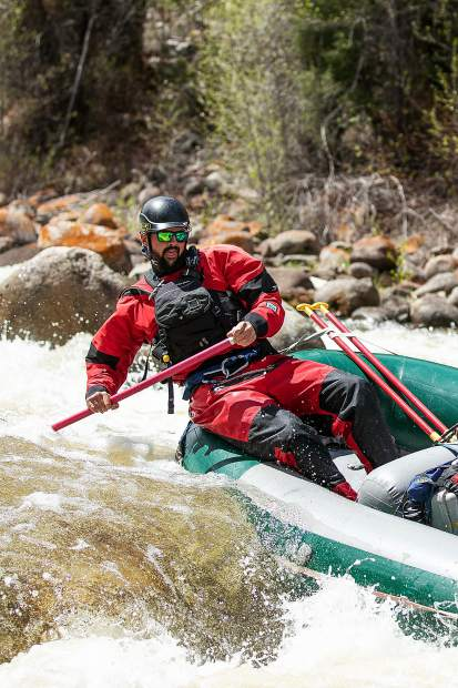 Guide Life: Rafting the Roaring Fork River