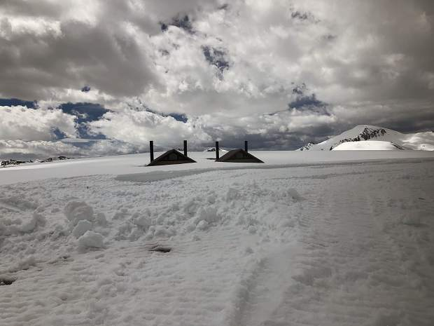The bathrooms at the top of Independence Pass are not currently accessible.