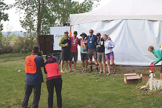 Team Van Clan makes a podium finish for the Six-Person Co-ed category.