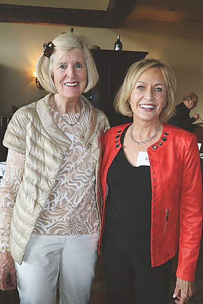CU alumae Carol Batchelder and Susan Kaye have been friends ever since they were in college together in rival sororities.