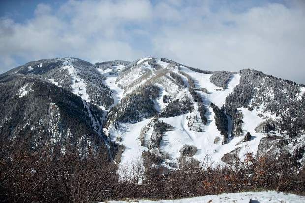 Aspen Mountain on April 12, 2019.