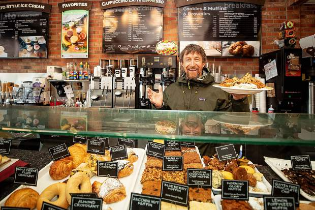 Co-owner of Paradise Bakery in Aspen Mark Patterson. The business will vacate its spot in October 2021.