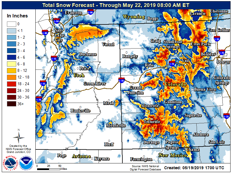 Winter storm warning back this week in Aspen, mountain areas; up to 2 feet of snow in higher elevations