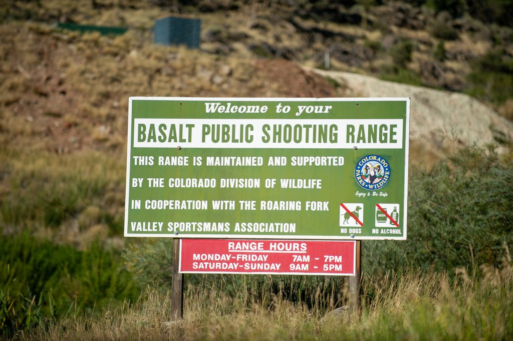 Man suffers minor injury in shooting incident at Basalt range
