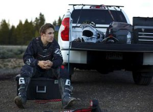 Catching up with snowboarders Chris Corning and Chase Blackwell, who share motocross passion