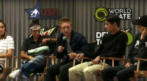 Summit locals, like Red Gerard, talk Olympic skateboarding at Dew Tour