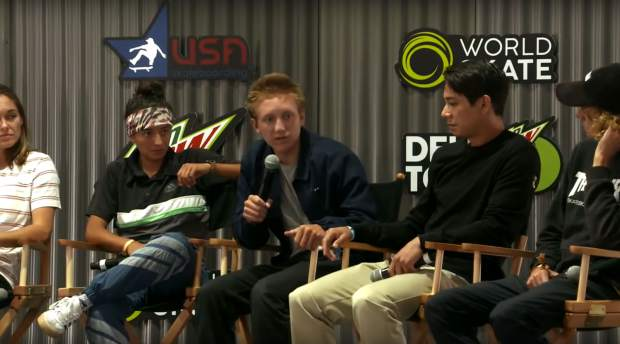 Summit locals talk Olympic skateboarding at Dew Tour