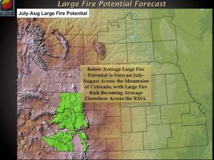 Wet winter and spring may bode well for a mild wildfire season this summer
