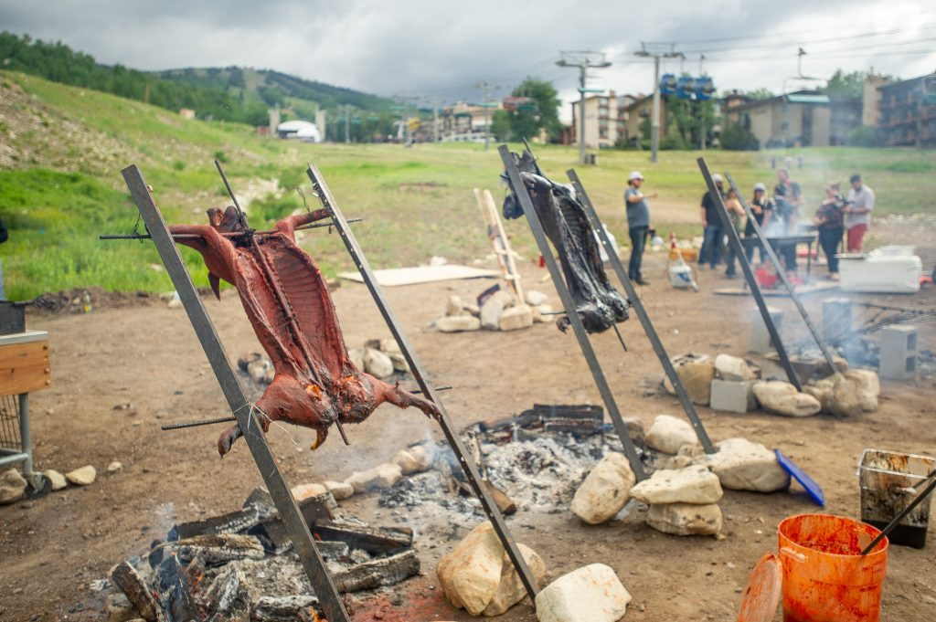 Heritage Fire in Snowmass Village has become a hotbed of activity away from Aspen during the Food & Wine Classic weekend.
