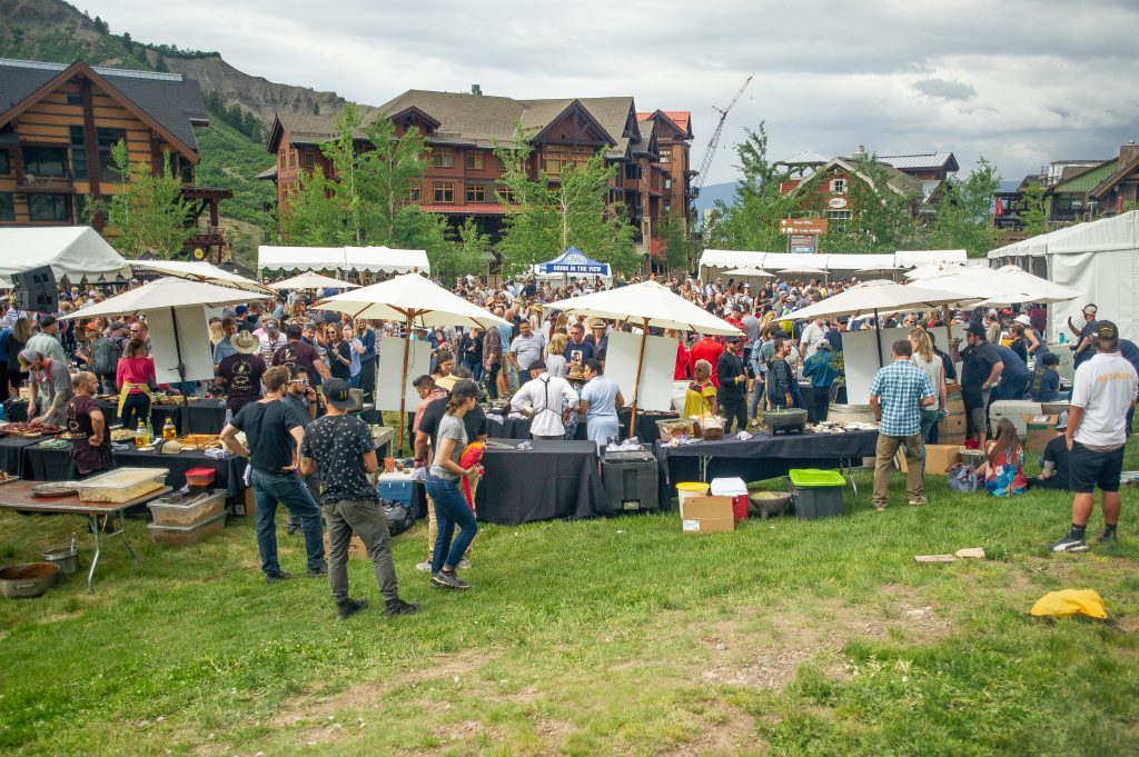 Heritage Fire in Snowmass Village has become a popular stop away from Aspen during the Food & Wine Classic weekend.