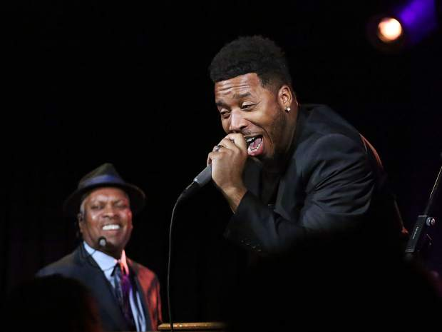 Artists perform alongside jazz legend Booker T. Jones at Belly Up Aspen as part of the JAS June Experience on Friday, June 22, 2019, in Aspen. (Photo by Austin Colbert/The Aspen Times)