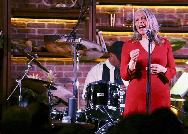 Grammy Award-winner Patti Austin performs Saturday, June 22, 2019, at The St. Regis Aspen as part of the Jazz Aspen Snowmass New June Experience. The three-day series of concerts concludes Sunday. (Photo by Austin Colbert/The Aspen Times)