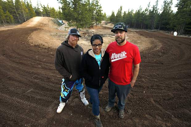 Rocky Mountain sandbox: Up in Leadville, locals have found the formula for the perfect 'brown pow' for dirt-bike riders