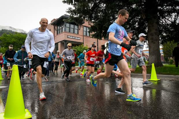 Glenwood's Gavin Harden wins Strawberry Shortcut 10K run